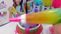 DIY Colors Kinetic Sand High Heel Cake Learn Colors Orbeez Birthday Cake