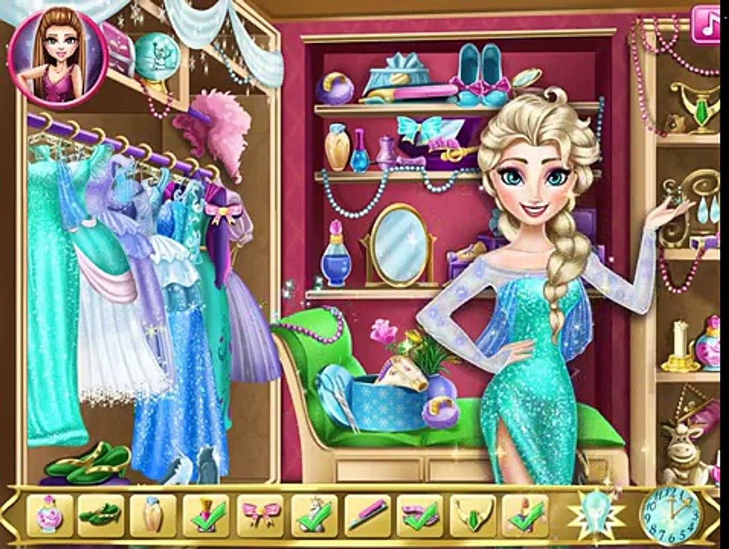 Elsa Frozen Игры—Эльза собирается на бал—Онлайн Видео Игры Для Детей Мультфильм new