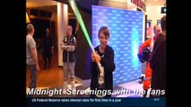 ABC-TV Star Wars Rogue One Midnight Screenings with the Fans 15.12.2016
