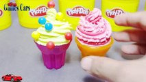 Play-Doh Ice Cream Surprise Eggs Toys Scooby Doo Max and Ruby Lemon Ice Cream Flavour