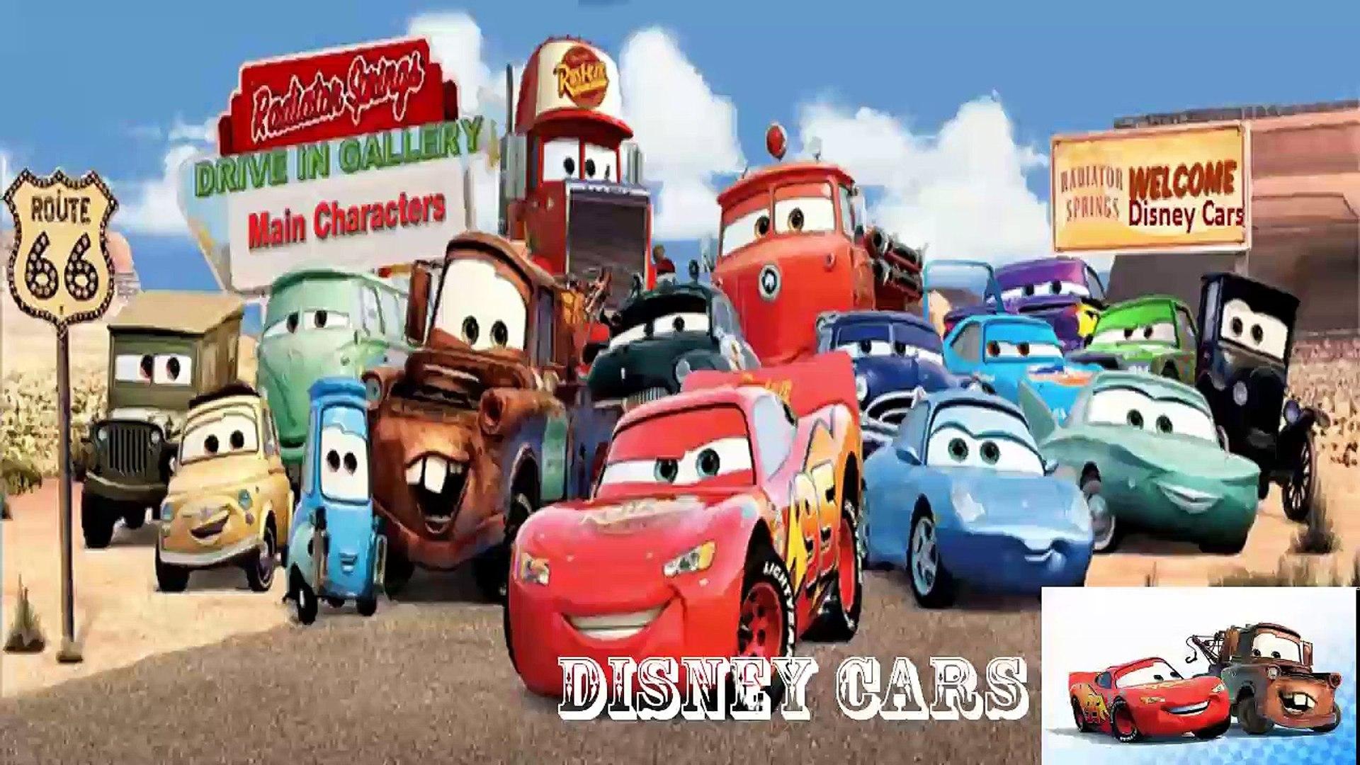 Cars 3 - Disney cars 2016 || Disney Pixar Cars Lightning McQueen | Kids Movie and The Cars 1