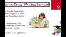 Top Notch Custom Essay Writing Service For Academic Student