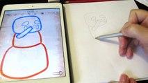 Как нарисовать Chibi Minecraft  для детей How to draw for children How to Draw Chibi Minecraft Snow
