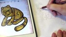 Как нарисовать Chibi Minecraft  для детей How to draw for children How to Draw Chibi Minecraft