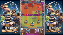 Clash Royale: Double Dragons + Double Telslas