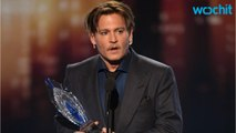 Johnny Depp Accepts 2017 People's Choice Award