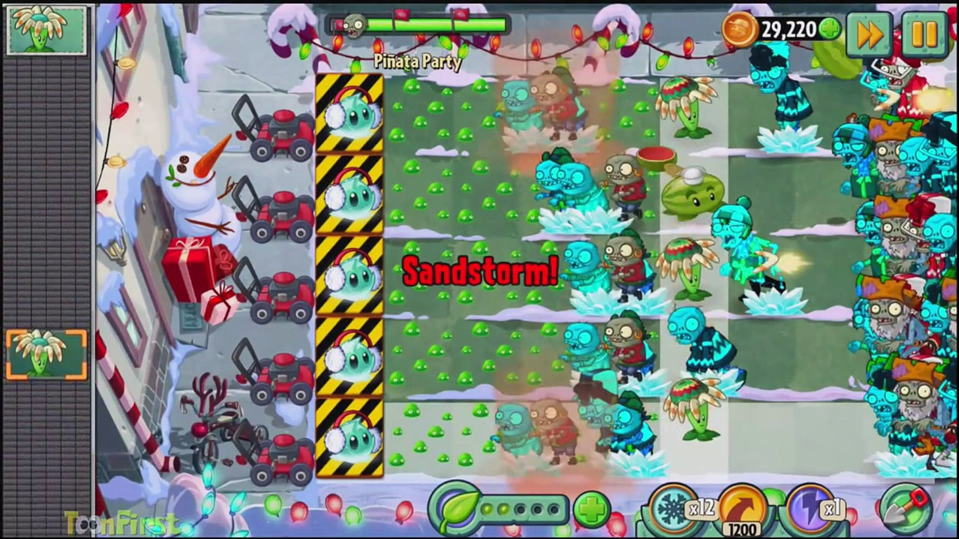 Растения против Зомби 2: Feastivus Pinata Party 28 декабря