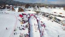 BEST OF DRONE - La Grande Odyssée Savoie Mont-Blanc 2017