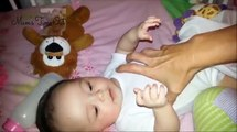 Cute 4 Month Old Eurasian Baby Girl Giggling So Sweet