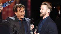From Justin Timberlake to Johnny Depp: The Biggest 2017 People's Choice Awards Moments