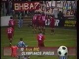 10.09.1996 - 1996-1997 UEFA Cup 1st Round 1st Leg Ferencvarosi TC 3-1 Olympiacos FC