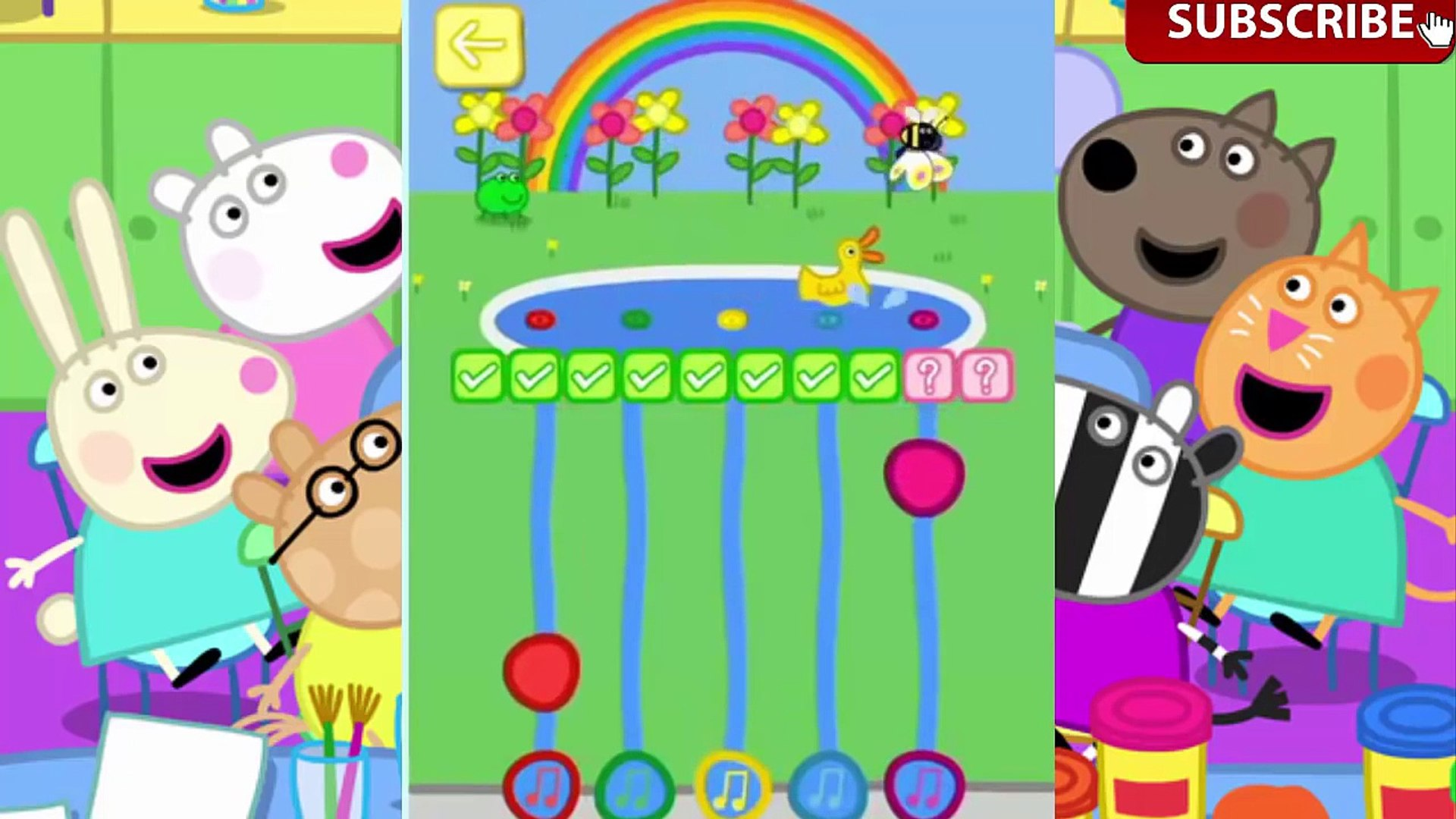 Peppa Pig Theme Park Cartoon Games For Kids Education Apps For Kids
