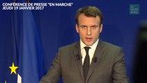 Emmanuel Macron refuse toute alliance électorale avec le PS ou le centre