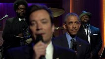 President Obama et jimmy fallon
