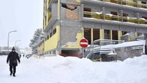 Le centre de l'Italie mis à rude épreuve par les séismes et les chutes de neige
