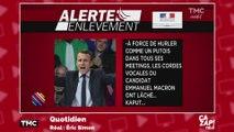 Une alerte enlèvement... pour les cordes vocales d'Emmanuel Macron !
