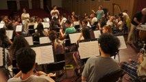 Saison 3 Orchestre des lycées français du monde : premières répétitions