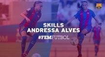 FCB Femení: Andressa Alves training skills