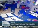 México: se registra tiroteo en colegio de Monterrey