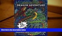 PDF [FREE] DOWNLOAD  Dragon Adventure: A Kaleidoscopia Coloring Book FOR IPAD