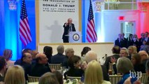 Trump recognizes Sen. Cornyn during luncheon