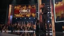 Très ému, Johnny Depp évoque son divorce lors de son discours de remerciement aux People's choice awards