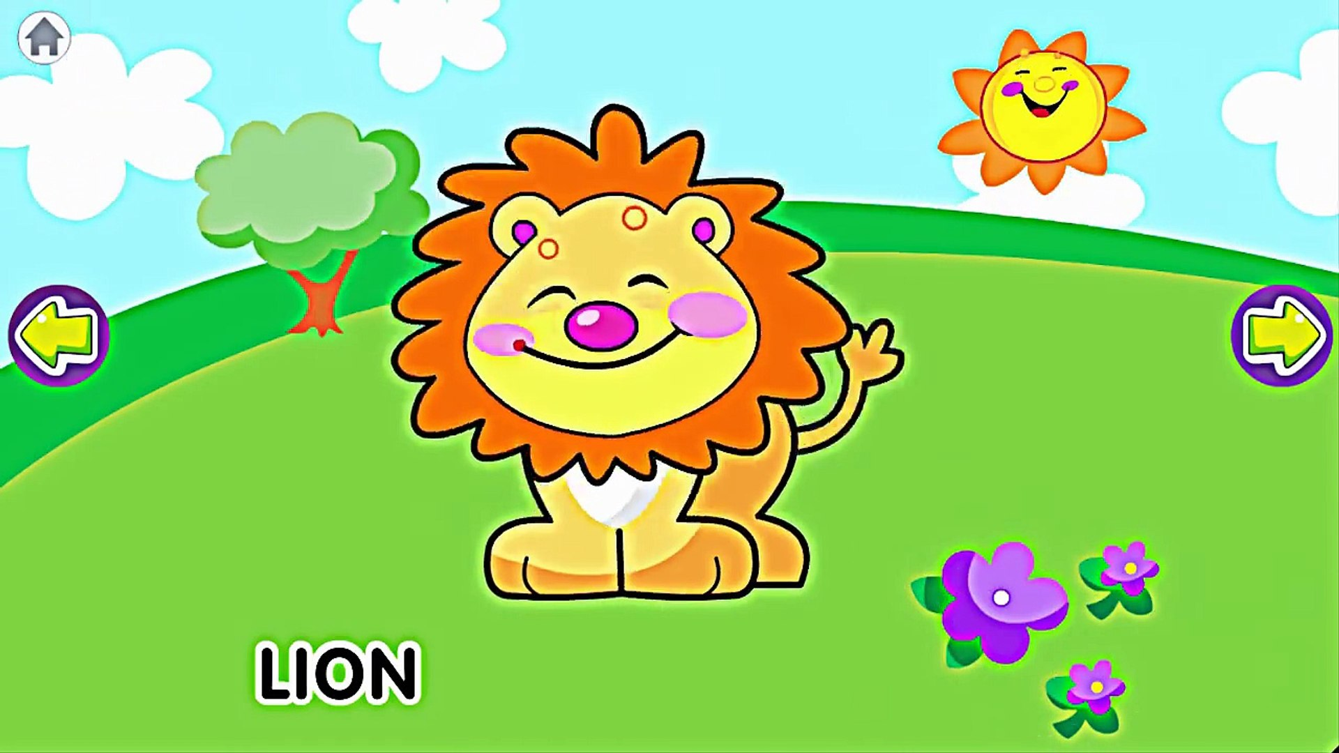 Animal Sounds and Names to Learning - Education Games Kids Videos