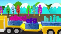 ABCD Alphabet Truck 3D Songs |3D Truck ABC Songs for Children | New Nursery Songs