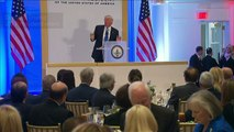 Trump thanks nominees, supporters at pre-inauguration luncheon