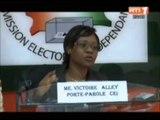 Point de presse du porte parole de la commission électorale indépendante CEI