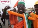 CAN 2015: Les supporters des Fennecs et des Eléphants se defient avant le match