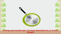 Cook N Home 12Inch Frying Pan with NonStick Coating Induction Compatible Bottom Large d15a7800