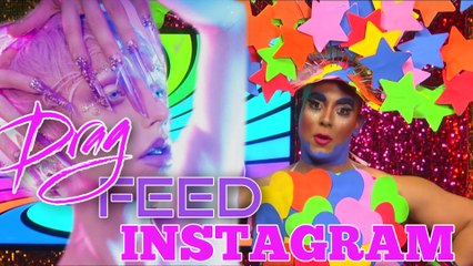 "Erickatoure Aviance ""Insta Qweens"" on Drag Feed"