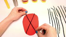 Play-Doh Spider-Man How to make Spider-Man Playdough Spiderman with Modelling Clay