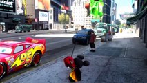 Spiderman Kids Songs ♪ London Bridge ♪ Meets his best friend Disney Cars Lightning