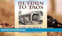 Read Book Return to Taos: Eric Sloane s Sketchbook of Roadside Americana Eric Sloane  For Free