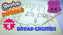 How to Draw Shopkins Season 4 Bread Crumbs