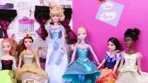 Frozen Elsa Disney Princess Attack Barbie DisneyCarToys Parody with Spiderman Jasmine and