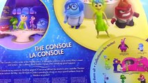 Disney Pixars Inside Out Control Panel! Disgust Anger Sadness Joy Fear Glowing Figures with Memory