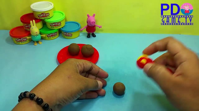 Peppa Pig Play Doh Ice Cream Cupcakes Surprise,Cooking Playdough Ice Cream Cupcakes Surprise Toys