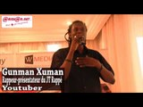 `YouTube Event`` en Côte d`Ivoire: intervention de Gunman Xuman, rappeur présentateur du JT Rappé