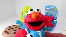 COOKIE MONSTER LOVES COOKIES!! Play-Doh Surprise Egg DOUBLED!! MUPPETS & PUPPETS! Sesame Street! PBS