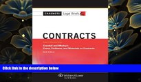 READ book Casenotes Legal Briefs: Contracts Keyed to Crandall   Whaley, Sixth Edition (Casenote
