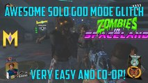 "Zombies In Spaceland Glitches - AWESOME Solo God Mode Glitch - Solo & CO-OP ""Solo God Mode Glitches"""
