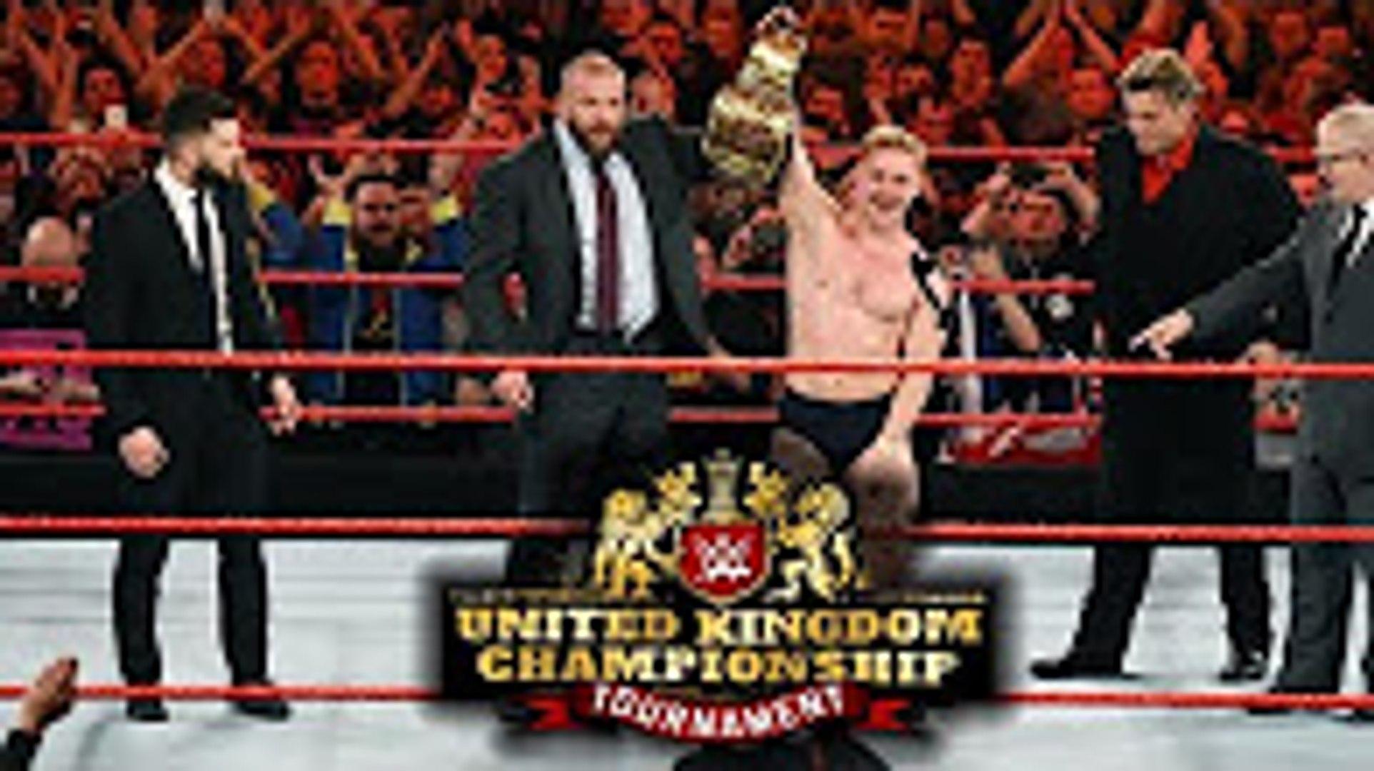 WWE United Kingdom Championship Tournament Finale 15 January 2017 Highlights HD - WWE United Kingdom