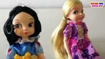 Fortune Days Dolls Toy : Snow White Doll & Rapunzel Doll | Toys Collection Video For Kids