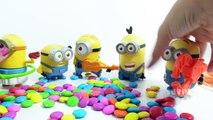 Mega Superheroes Surprise Eggs Color Candy Collection | Ironman Batman Superman Toys for Kids