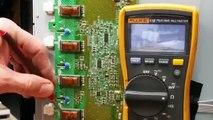 Vizio TV Repair - E601i-A3 T-Con Board Replacement - How to Fix