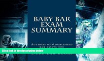 Read Book Baby Bar Exam Summary: Authors of 6 published bar essays !!!!!! Duru Law books  For Kindle