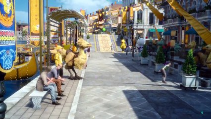 Moogle-Chocobo Carnival Trailer  de Final Fantasy XV